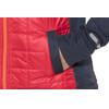 PEARL iZUMi Versa Quilted hoody Heren rood/blauw